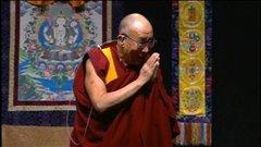 Le dalaï-lama a prononcé un discours au Centre municipal d'Ottawa.