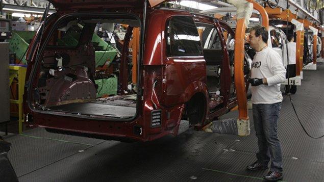 usine de Chrysler à Windsor