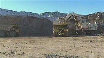 Chargement minier