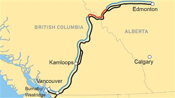 Pipeline Trans Mountain Kinder Morgan