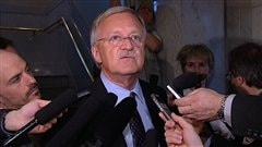 Le député libéral d'Orford Pierre Reid