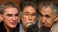 © Radio-Canada / François Lemay | Jean-Pierre Rodriguez, Pierre Lefrançois et Aziz Alaoui