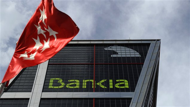 Le sige social de Bankia,  Madrid.