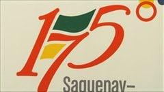 Le logo des fêtes du 175e du Saguenay-Lac-Saint-Jean