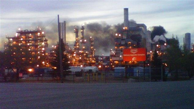 L'incendie qui a éclaté à la raffinerie Co-op de Regina n'a fait aucun blessé.