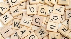 Des lettres du jeu Scrabble