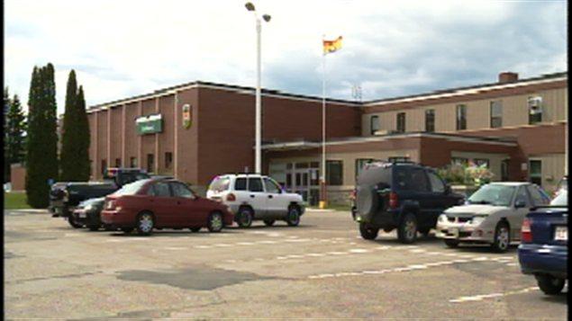 Le Collège communautaire du Nouveau-Brunswick, campus de Bathurst.