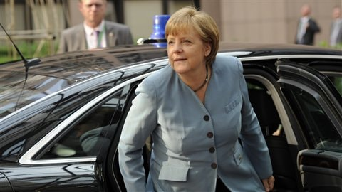 La chancelli�re allemande Angela Merkel | Photo : AFP