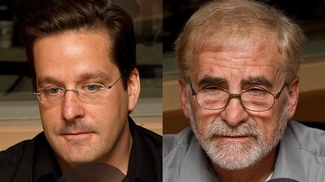 � Radio-Canada / Fran�ois Lemay | St�phane Paquin et Henry Milner