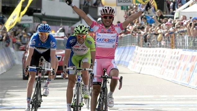 Rodriguez devant Basso et Hesjedal