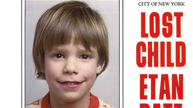 Etan Patz, disparu en 1979 à New York.