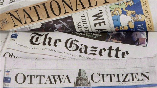 Periódicos pertenecientes a Postmedia