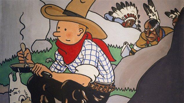 Dessin de Hergé vendu 1,3 million d'euros