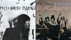 <b>La pochette des albums de Patti Smith et de Neil Young with the Crazy horse.</b>
