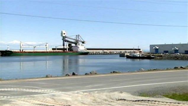 Le port de Belledune