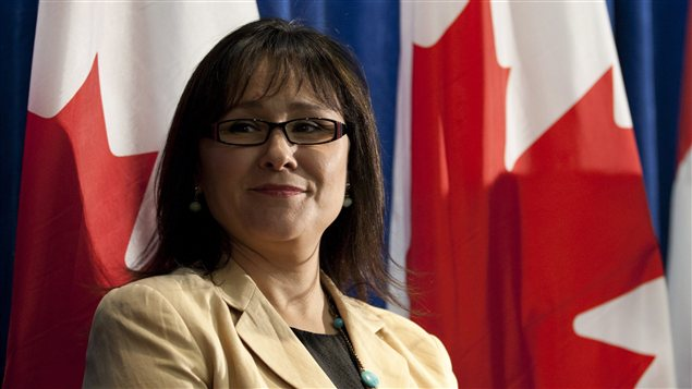 La ministre fdrale de la Sant, Leona Aglukkaq