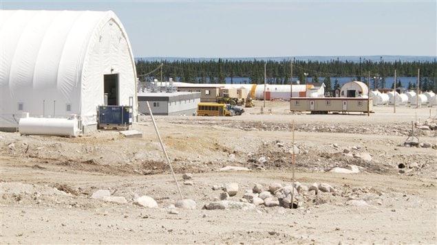 Le site du projet uranifère Matoush, de l'entreprise Strateco