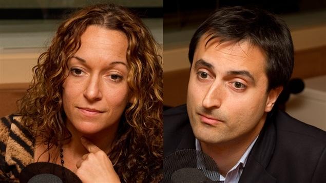 © Radio-Canada / François Lemay | Marie-Ève Morin et Didier Jutras-Aswad