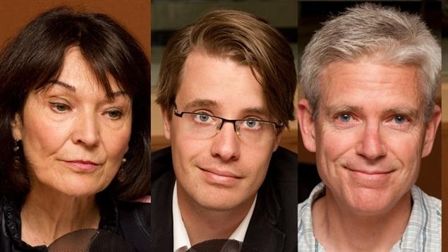 © Radio-Canada / François Lemay | Monique Grégoire, Simon Tremblay-Pepin et Alain Noël