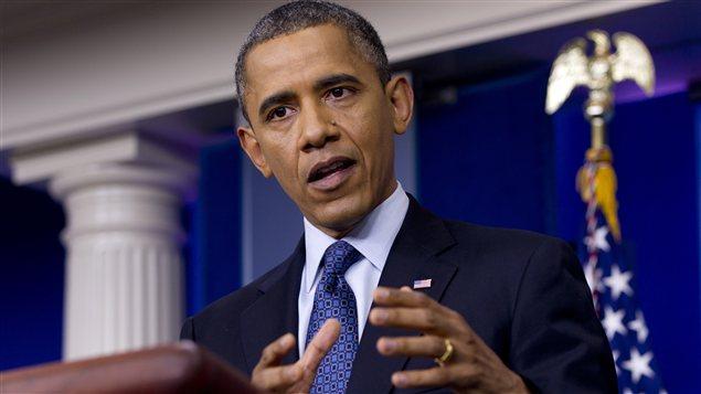 Le président américain Barack Obama, à la Maison-Blanche, vendredi