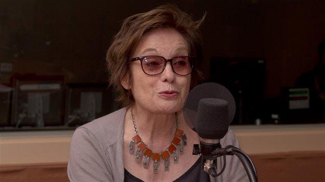 Louise Latraverse, lors d'un précédent passage à Médium large