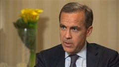 Mark Carney, gouverneur de la Banque du Canada