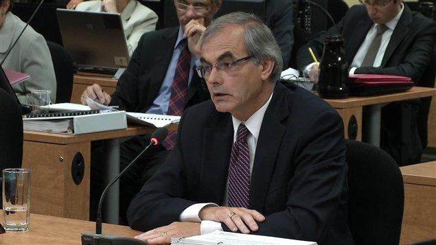 Marcel Carpentier témoigne à la commission Charbonneau