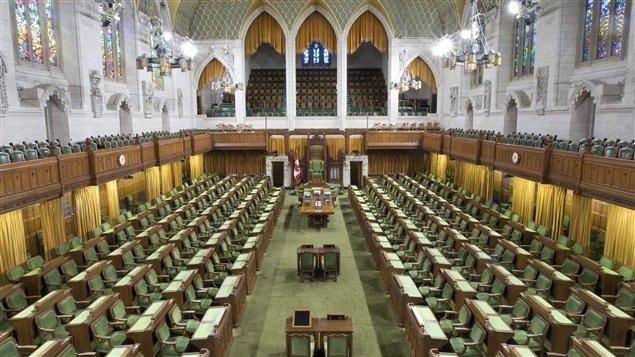 La Chambre des communes à Ottawa (archives)