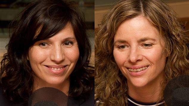 © Radio-Canada / François Lemay | Florence Girod et Marie-Claude Ducas