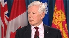 Le chef par intrim du Parti libral, Bob Rae.