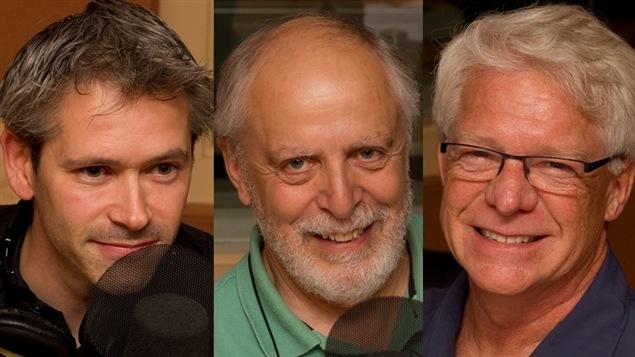© Radio-Canada / François Lemay | Patrick Bonin, Louis-Gilles Francoeur, et François Reeves