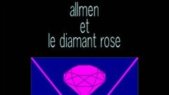 Une partie de la pochette du livre <i>Allmen et le diamant rose</i>