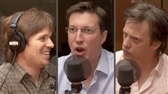 Radio-Canada/Olivier Lalande | <b>Philippe Marois, Guillaume Lavoie et Fabien Dupuis</b>
