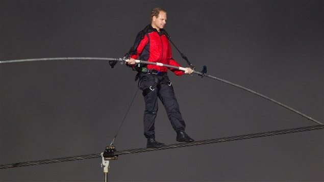 Le funambule Nik Wallenda