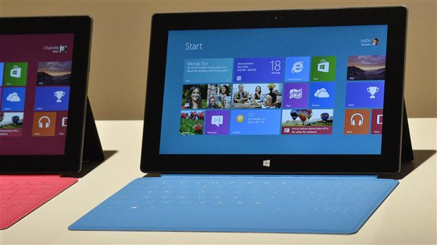 Tablettes Surface de Microsoft