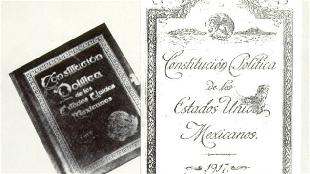 La Constitution mexicaine