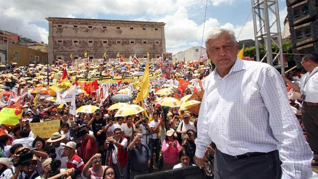 Andrès Manuel Lopez Obrador, du PRD