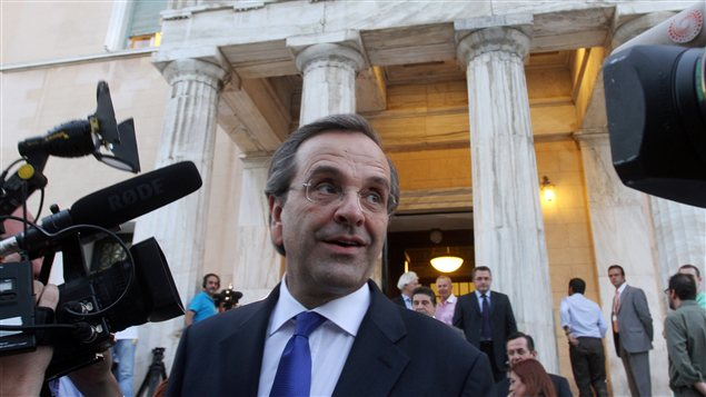 Le nouveau premier ministre grec Antonis Samaras
