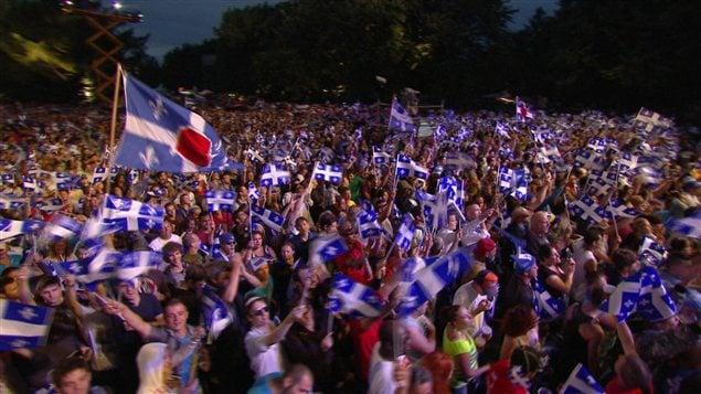 Fête nationale au parc Maisonneuve à Montréal