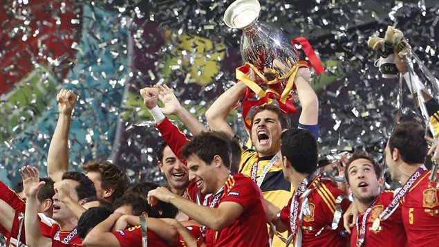 L'Espagne championne d'Europe