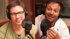 Benoit Pelletier et Jol Legendre   Radio-Canada/ Marie-Sandrine Auger
