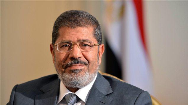 Le président égyptien Mohammed Morsi