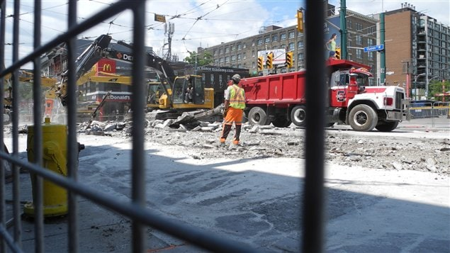 travaux queen spadina