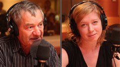 David Payne et Louise Taylor  Radio-Canada/ Marie-Sandrine Auger 