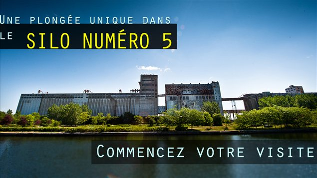 Le silo no 5 du Vieux-Port de Montréal