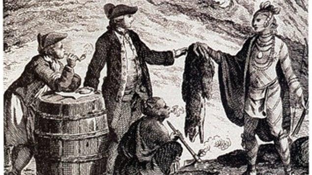 Le Yukon est la plaque tournante du commerce de la fourrure dans les années 1840