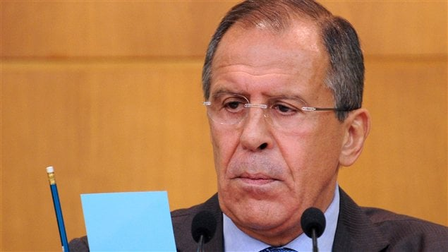 Le ministre russe des Affaires trangres, Sergue Lavrov (archives)