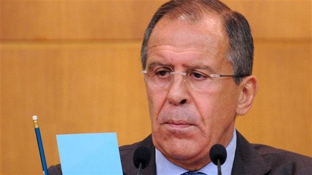 Le ministre russe des Affaires étrangères, Sergueï Lavrov (archives)