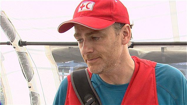 Le Dr Sylvain Couture, candidat de Québec solidaire dans Ungava.