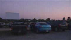 Le ciné-parc de Templeton à Gatineau